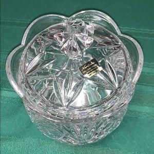 NORITAKE crystal jar